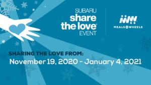 Subaru Share the Love Event @ Your Local Subaru Dealer